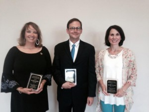 2015 SHS Hall of Famous inductees Anne Stricklin, Briar Jones, and Amy Ellis McReynolds.